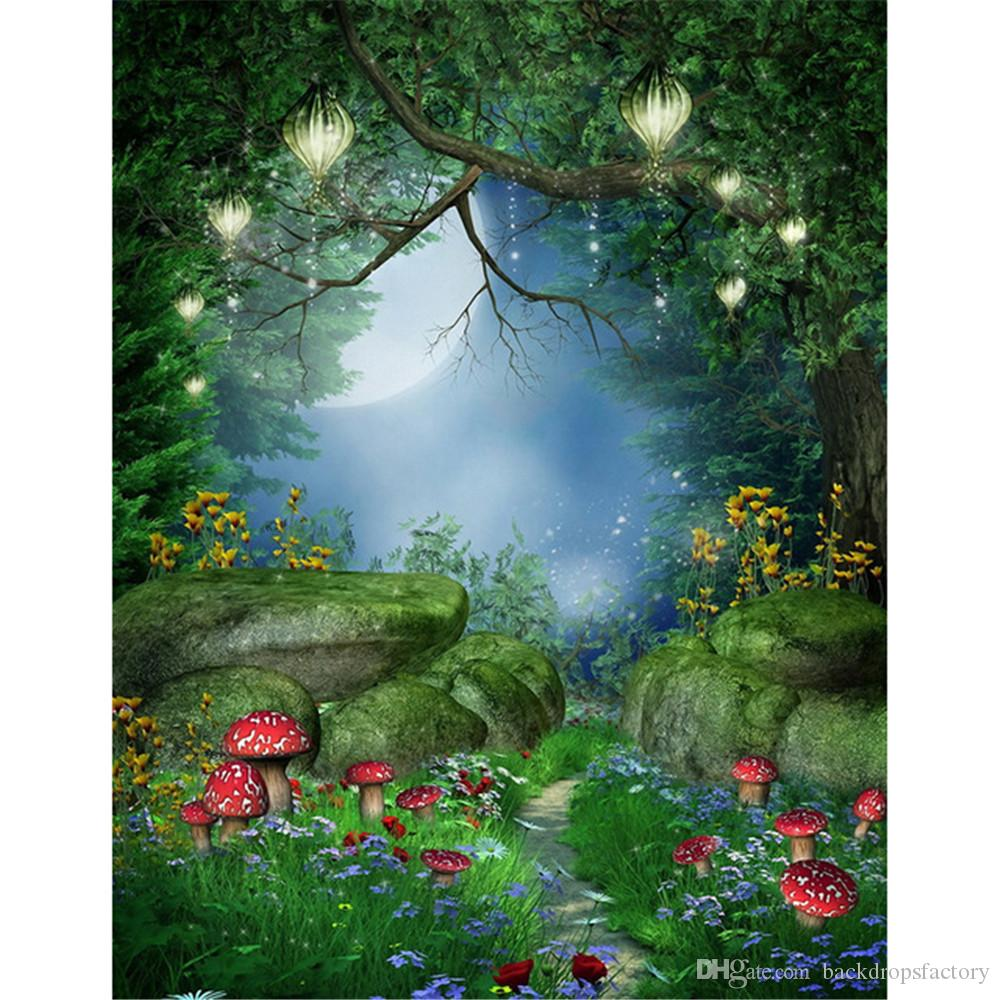 2019 Fairy Tale Forest Photography Background Old Tree