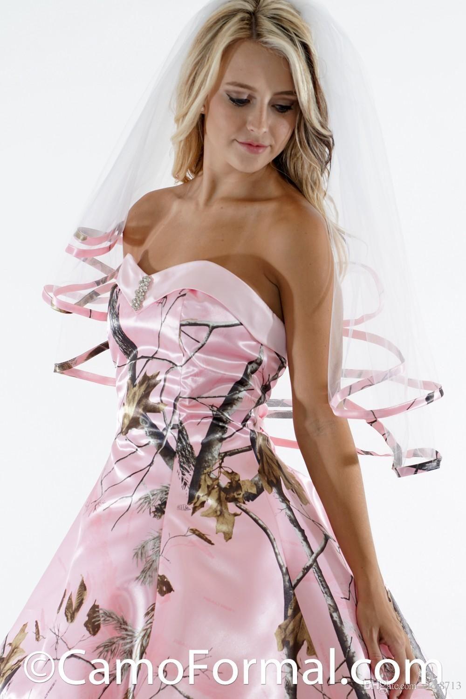 핑크 카모 드레스 들러리 드레스 끈이 하이 - 보라 짧은 신부 들러리 '정장 드레스 맞춤 제작 NO 베일