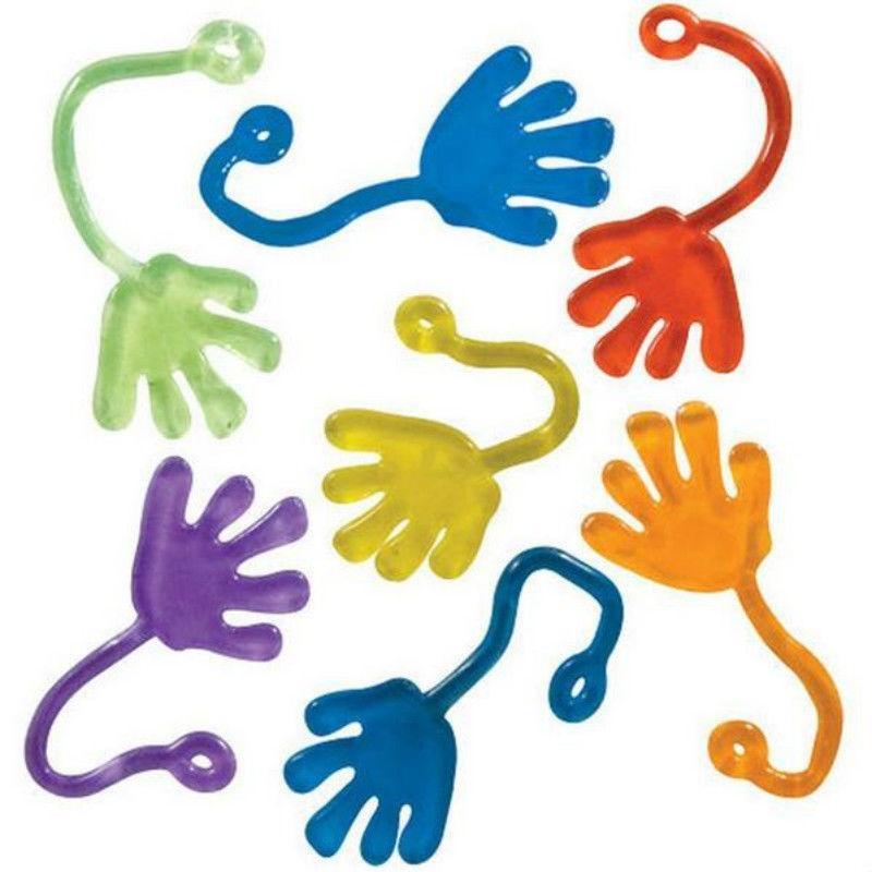 Crianças Abastecimento Party Favors Mini Fixo Jelly vara tapa mole Mãos Toy