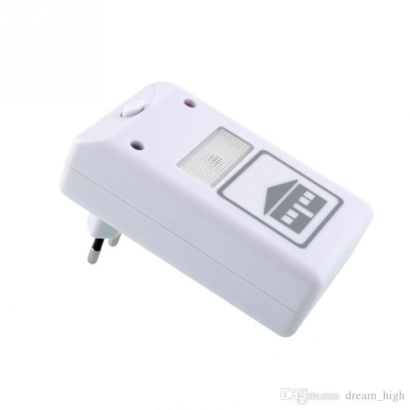 NUOVO antiparassitario elettronico RIDDEX antiparassitario che respinge l'aiuto ultrasonico / elettromagnetico Anti zanzara Mouse Insect scarafaggio di controllo