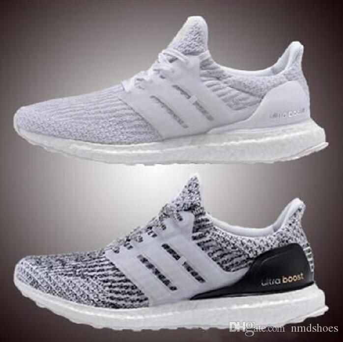58c3fe3c7 2017 New Ultraboost 3.0 Running Shoes Men Women High Quality Ultra Boost 3  III White Black Athletic Shoes Size 36 45 US 5 11 Preschool Tennis Shoes  Running ...