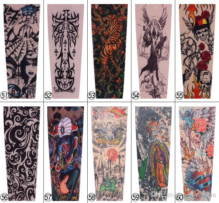 344eded7c 3D Print Tattoo Cooling Arm Sleeves Athletic Sport Skins Sun Protective UV  Cover Basketball Arm Warmer Sleeve Cheap Arm Sleeves Football Arm Sleeve  From ...