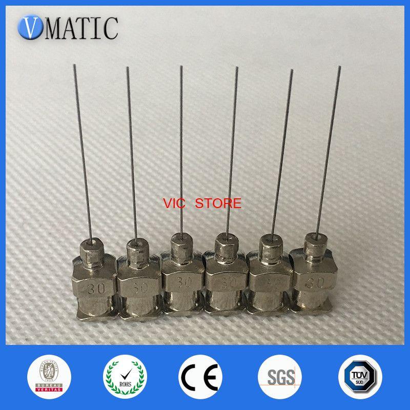 - 1inch Tip Length 30G Blunt Stainless Steel Dispensing Needles Glue Dispensing Tip