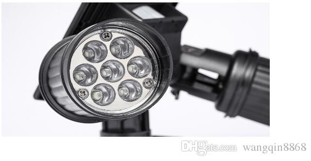 Super Bright 14 LED À Prova D 'Água PIR Sensor de Movimento Movido A Energia Solar Luz, levou luzes solares Jardim de Segurança Da Lâmpada Ao Ar Livre Luz de Rua