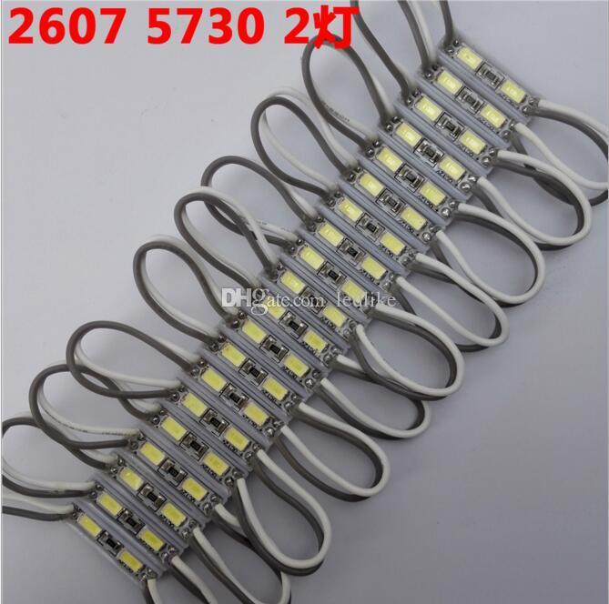 Mini LED modülü 5730 SMD Su Geçirmez IP66 Işık Lamba için Serin beyaz LED aydınlatmalı mini burcu ve mektuplar DC12V