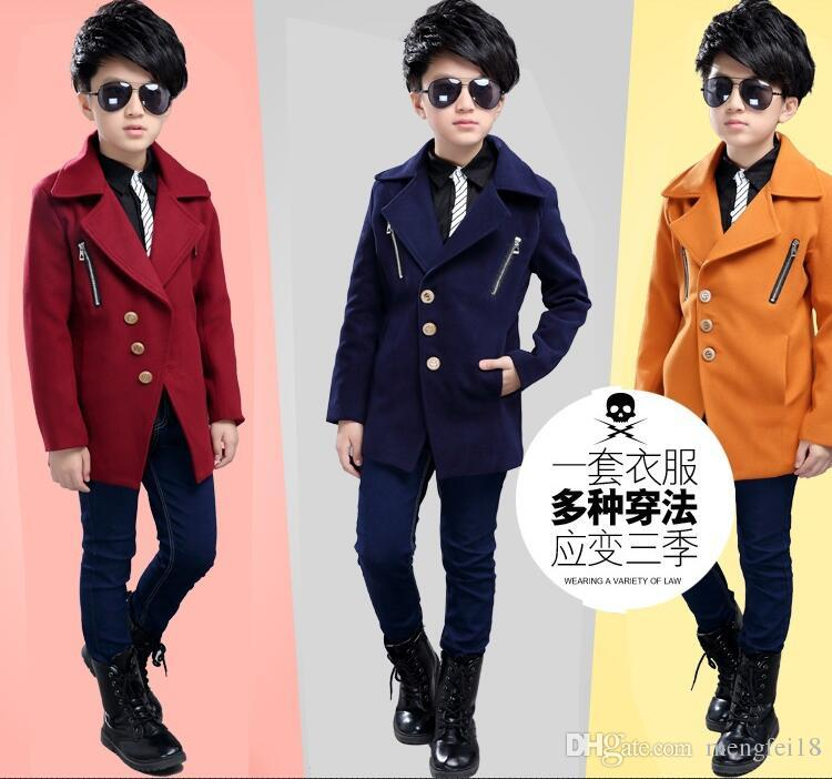 c64cd7845 Boy Cloth Coat the Spring of 2017 the New Children s Wear in the ...