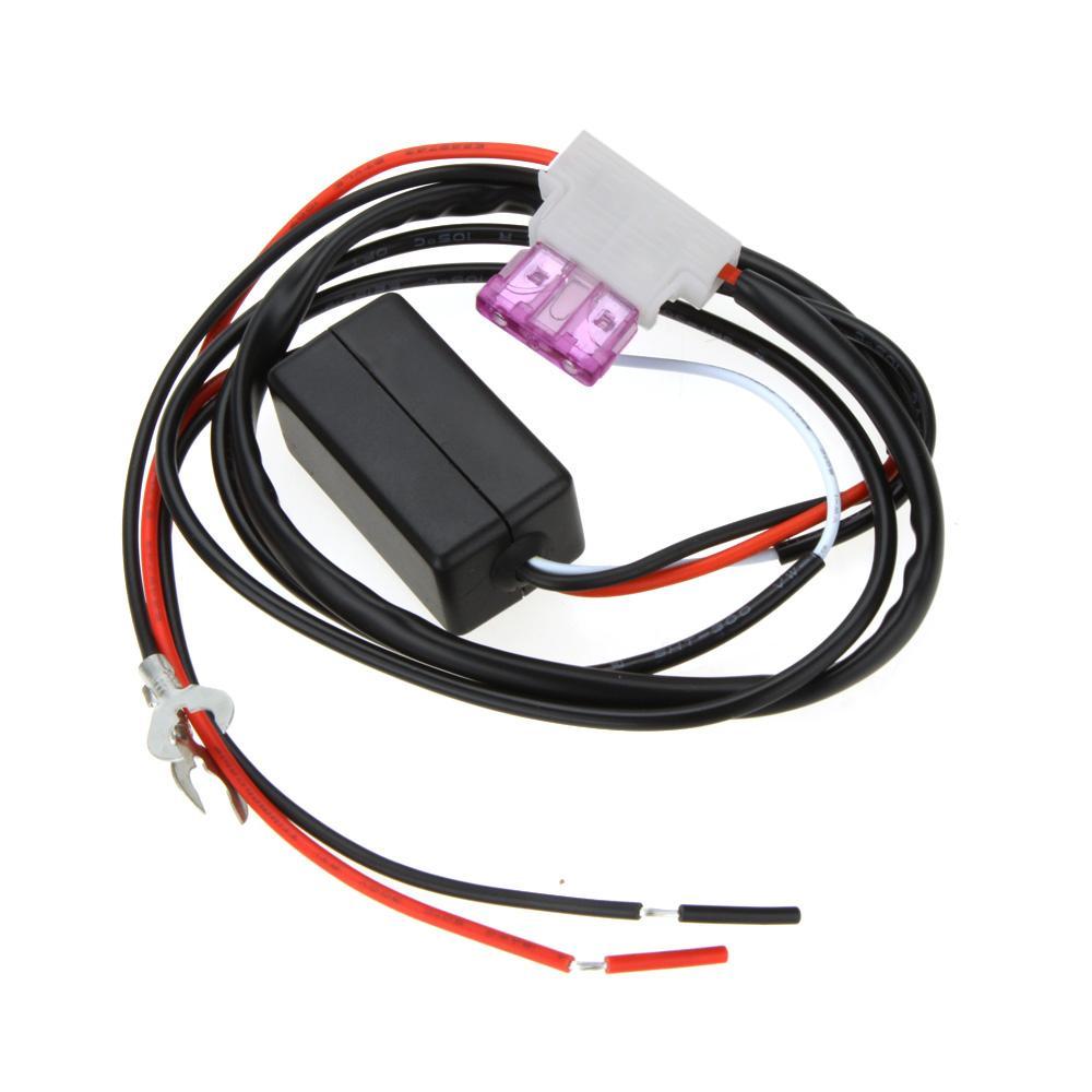 Universel 12V Voiture LED DRL Contrôleur Auto led jour lumière courante lampe kit On / Off Commutateur Contrôleur pour Auto Accessoires