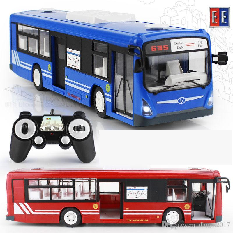 Rc Car 2017 New 2 4g Remote Control Bus Car Charging Electric Open