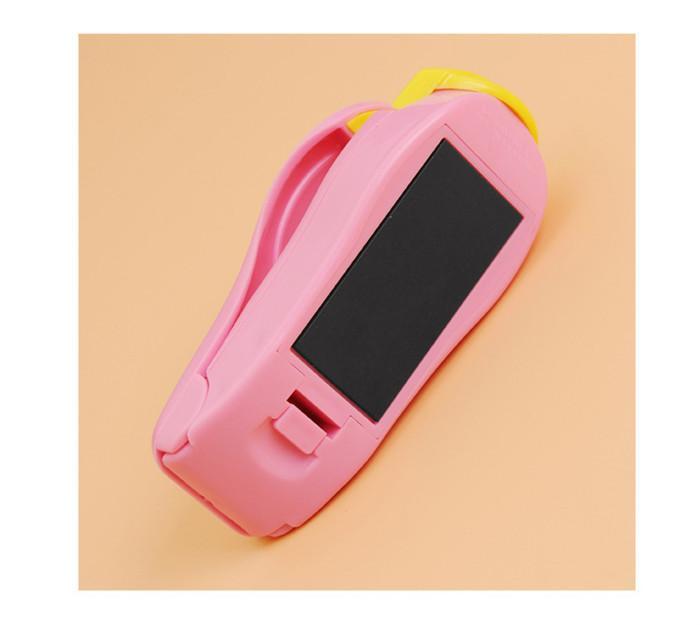 Scellant en plastique de la machine de cachetage portatif tenu dans la main de machine de cachetage utilisant la pièce