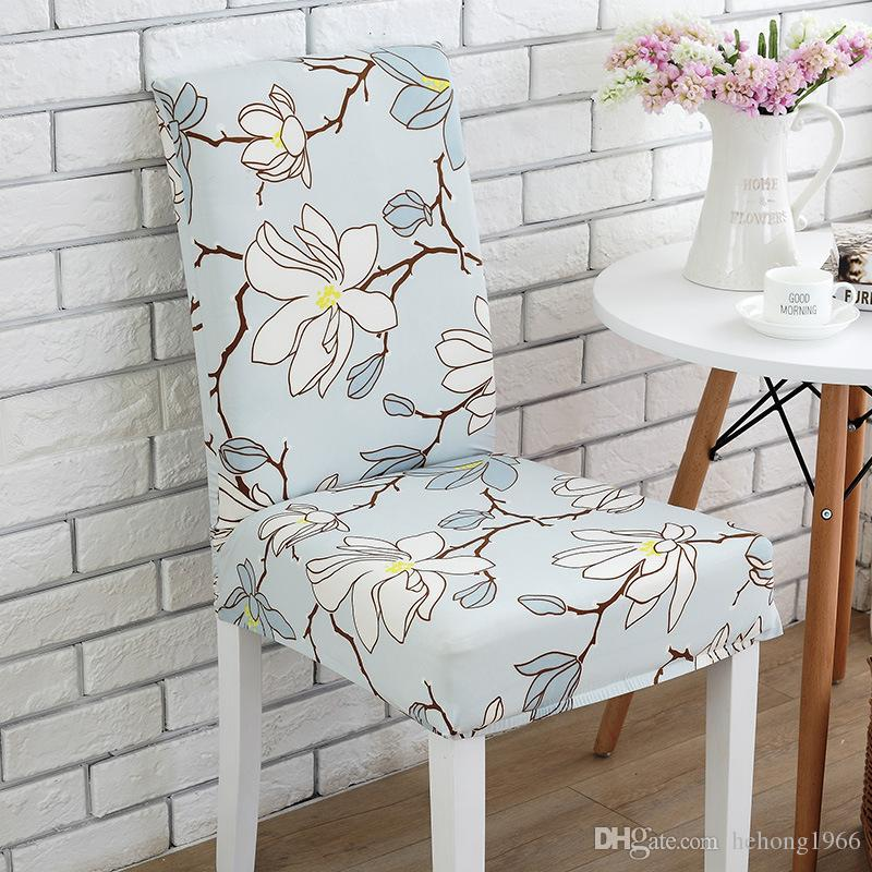 Restaurant Chair Covers Many Styles For Wedding Banquet Decorate Articles Floral Print Elastic Chairs Cover Comfortable 7 2wd C R