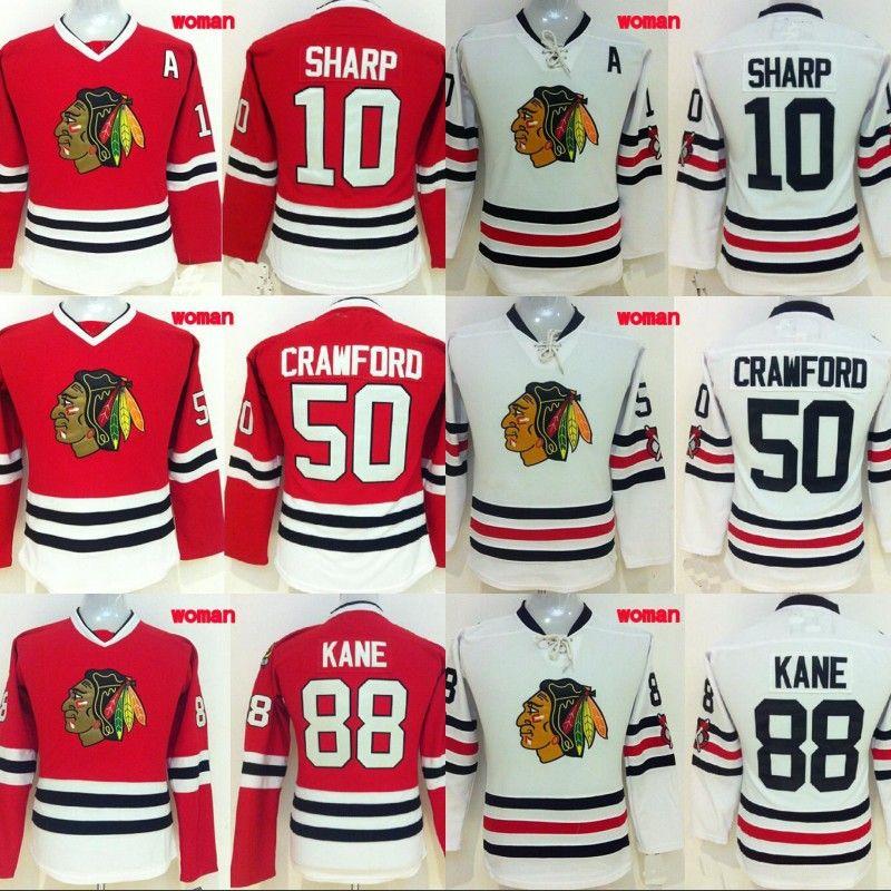 97dfcf50c 2019 Lady Chicago Blackhawks Jersey 2 Duncan Keith 19 Jonathan Toews 72  Artemi Panarin 88 Patrick Kane 100% Stitched Hockey Jerseys Cheap From ...