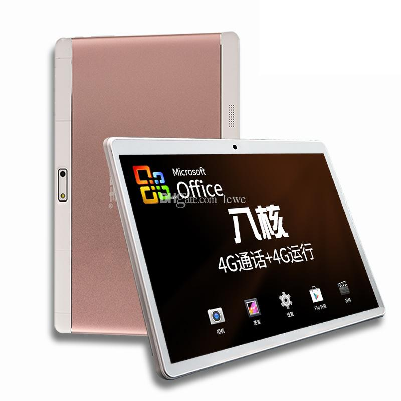 Nuevo Tablet PC Android 5.1 IPS 10.1 pulgadas 1920P 8MP 2MP cámara MT6592 4GB Ram 64GB Rom tablet pc 3g 4g teléfono android DHL envío gratis