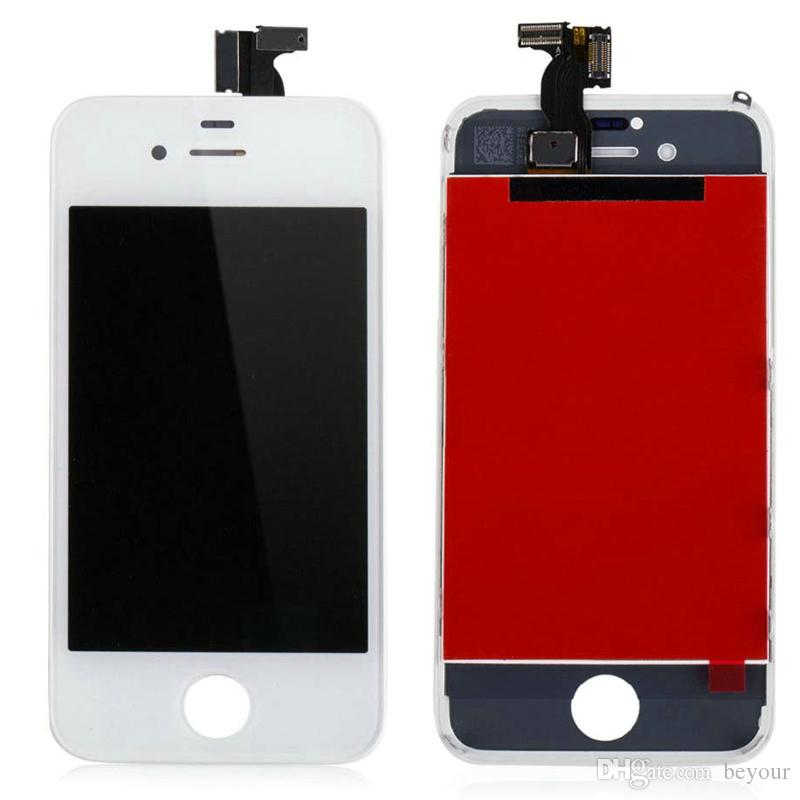 LCD Touch Screen Digitizer Replacement Assembly for iPhone 4s Display Touch Panel AAA Grade 6 Months Warranty