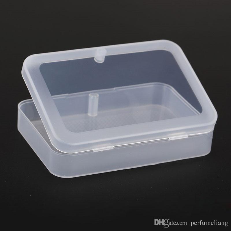 Hochwertige transparente Spielkarten Kunststoffbox PP Aufbewahrungsboxen Verpackung Fall Kartenbreite weniger als 6 cm ZA4345