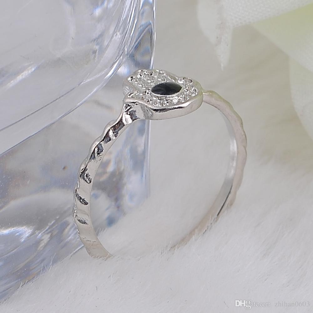 Vintage Silber Farbe Aussage Ring Für Frauen 2017 Fatima Augen Hand Tibetischen Ringe Ethnische Schmuck