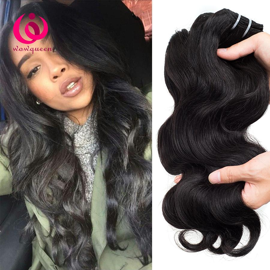 Brazilian human weave hair body wave 3bundles wow queen products see larger image pmusecretfo Image collections
