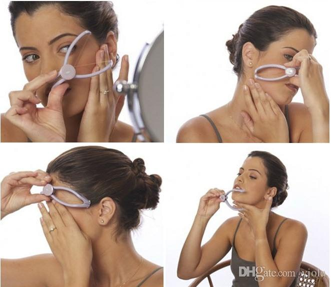 2017 Hair Remover Threading Epilator Useful Spring Face Facial Body Beauty Nice Tool Hair Removal Defeatherer