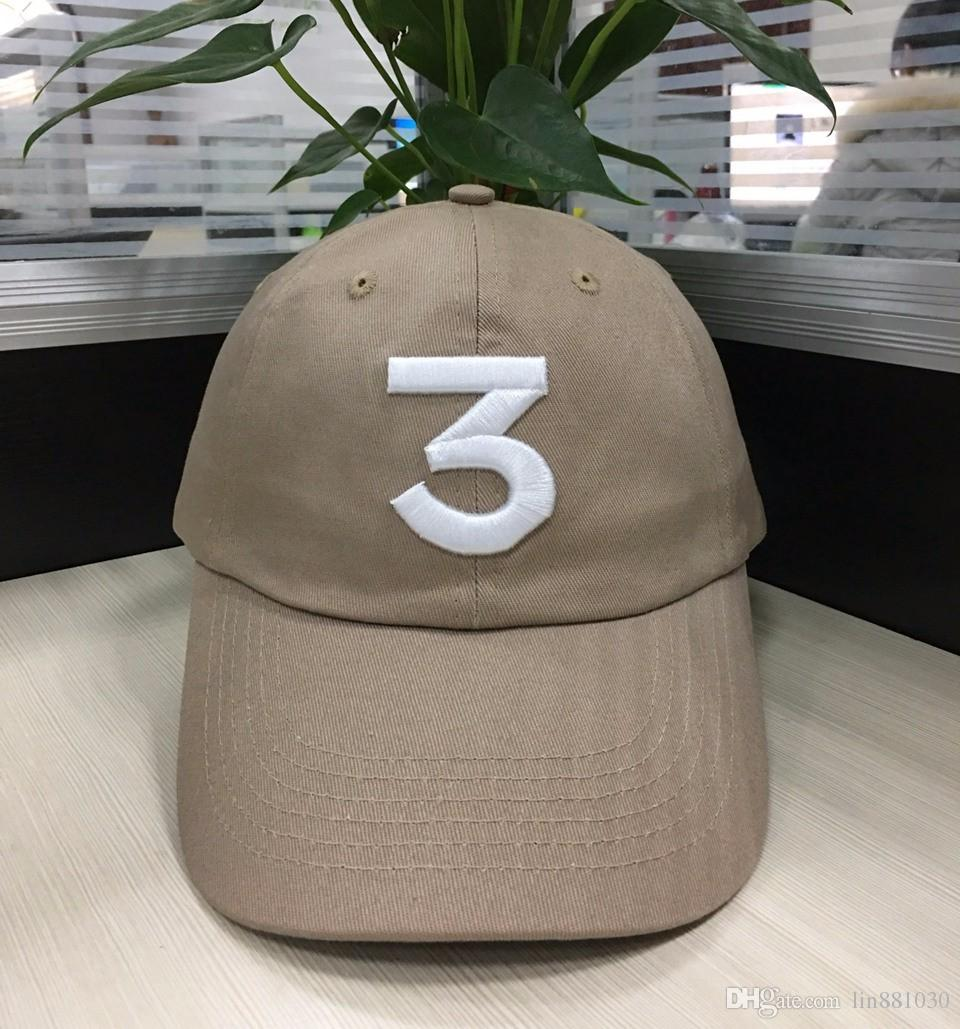 2aad49600e22a7 Hip Hop Chance The Rapper Chance 3 Cap Hat Letter Embroidery Baseball Cap  Streetwear Strapback Snapback Gorras Casquette For Men And Women Lids Cap  From ...