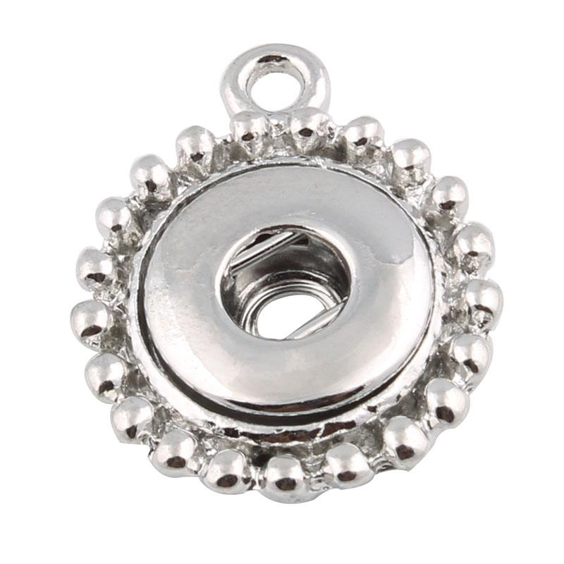 9 стиль 12 мм Нуса имбирь Оснастки кнопка ювелирных изделий выводы кнопки подвески разъемы подходят для кнопки браслет / ожерелье / серьги