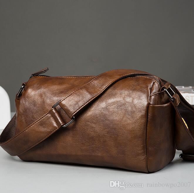 Original Design Brand Bag Retro Soft Leather