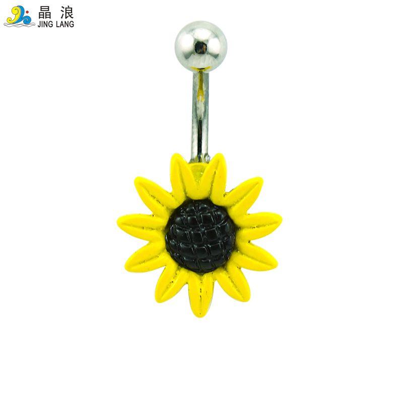 Mix Sale Belly Button Rings Mix Design Acciaio inossidabile 316L Bar Anelli ombelico Piercing il corpo