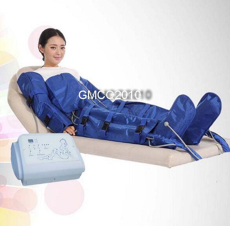 Kızılötesi sauna lenfatik drenaj masaj ekipmanları satılık kızılötesi termal battaniye pressoterapi makinesi Zayıflama vücut wrap battaniye