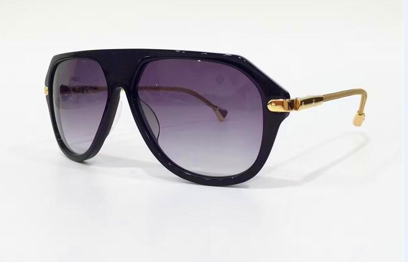 Nouvelles lunettes de soleil Style d'été Vintage Sunglasses Steampunk Style Goggle Cadre Cadre Métal Jet de jante Z0570 PLIF