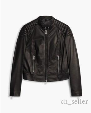 2017 Women Designer Leather Jackets Nappa Leather Muscle Fit ...