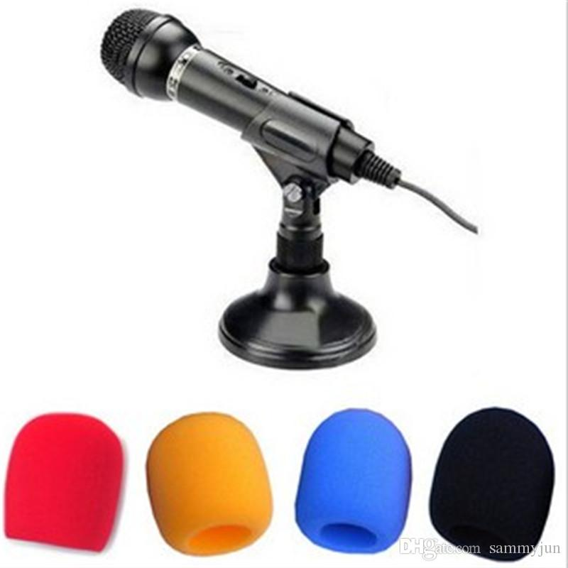 de 10 pack de microphones de scène en microfibre mousse pour karaoké taille intérieure 35 * 60mm livraison gratuite par courrier