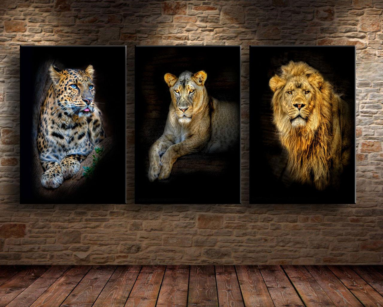 2018 Leopard Lion ,Home Decor Hd Printed Modern Art Painting On Canvas  Unframed/Framed From Q652398773, $14.53 | Dhgate.Com