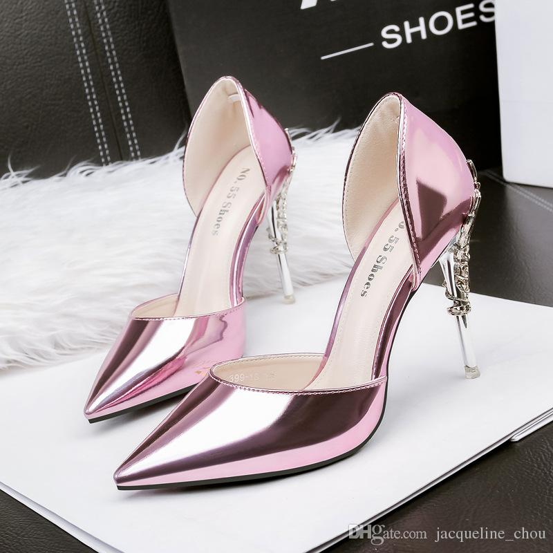 eb6f95bffe343a Cheap White Wedding Wedge Heels Shoes Best Purple Velvet High Heel Shoes