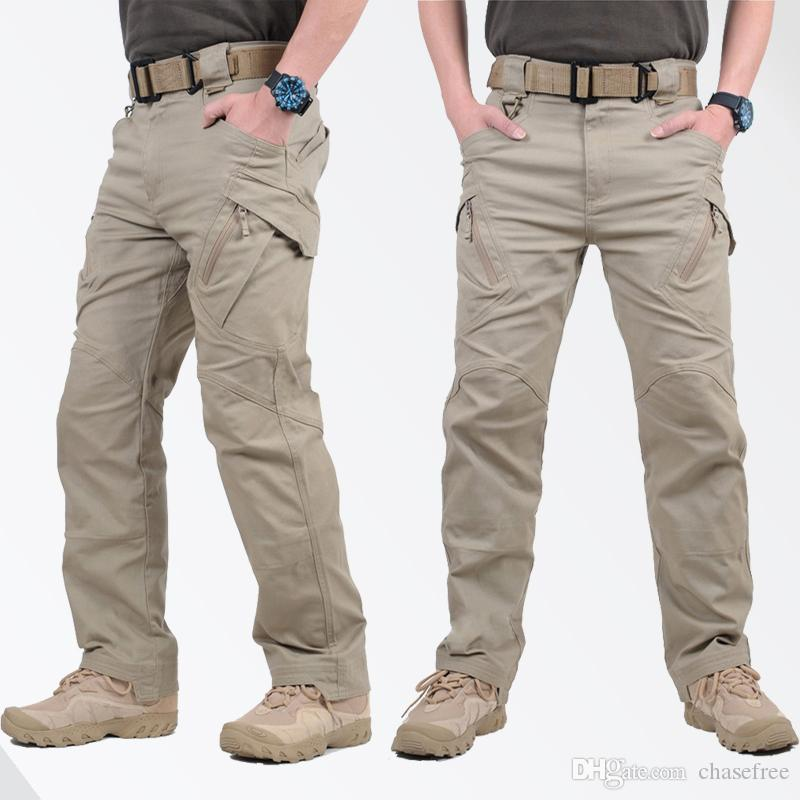 2017 Hot Sale Ix9 Tactical Men Pants Combat Trousers Swat Army ...