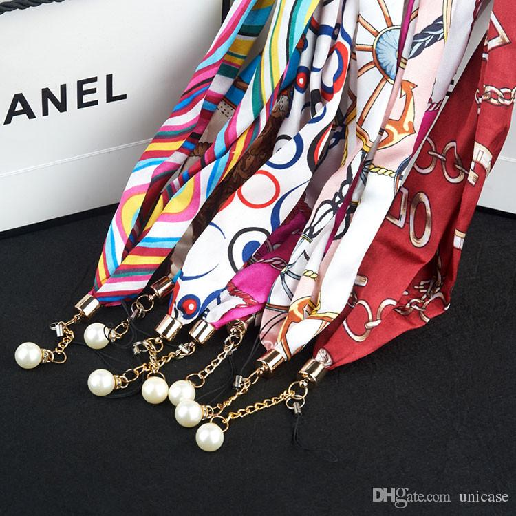 Phone Scarf Lanyard For Cell Phone MP3/4 Flash Drives ID Card Camera ID Card DHL Shipping