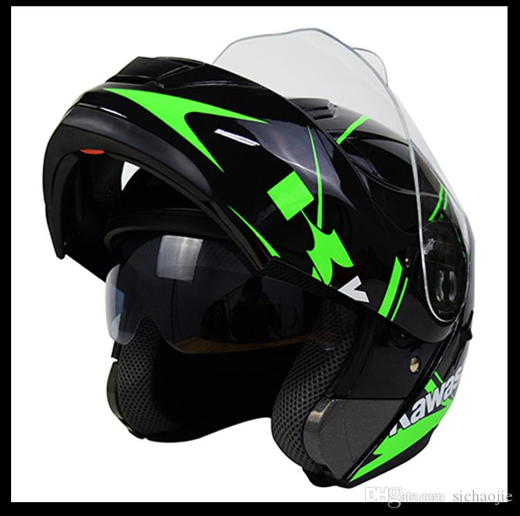 the 2017 new style kawasaki ride off road helmet race off road