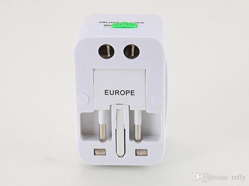 الكل في واحد عالمي محول قابس محول السفر العالمي AC شاحن الطاقة مع الاتحاد الافريقي الولايات المتحدة الاتحاد الأوروبي محول التوصيل أعلى جودة