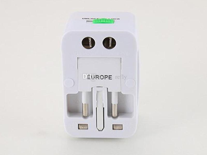 Все в одном универсальный международный штекер адаптер мира путешествия переменного тока зарядное устройство адаптер с AU США Великобритания ЕС конвертер штекер