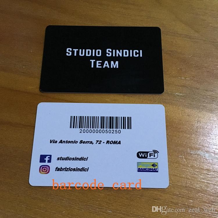 Acheter Carte Didentite Pour Cartes De Visite Imprimables Recto Verso Papier Dur PVC Mat Transparent 200 Personnalisez Votre Logo 004 Du Zeal Web