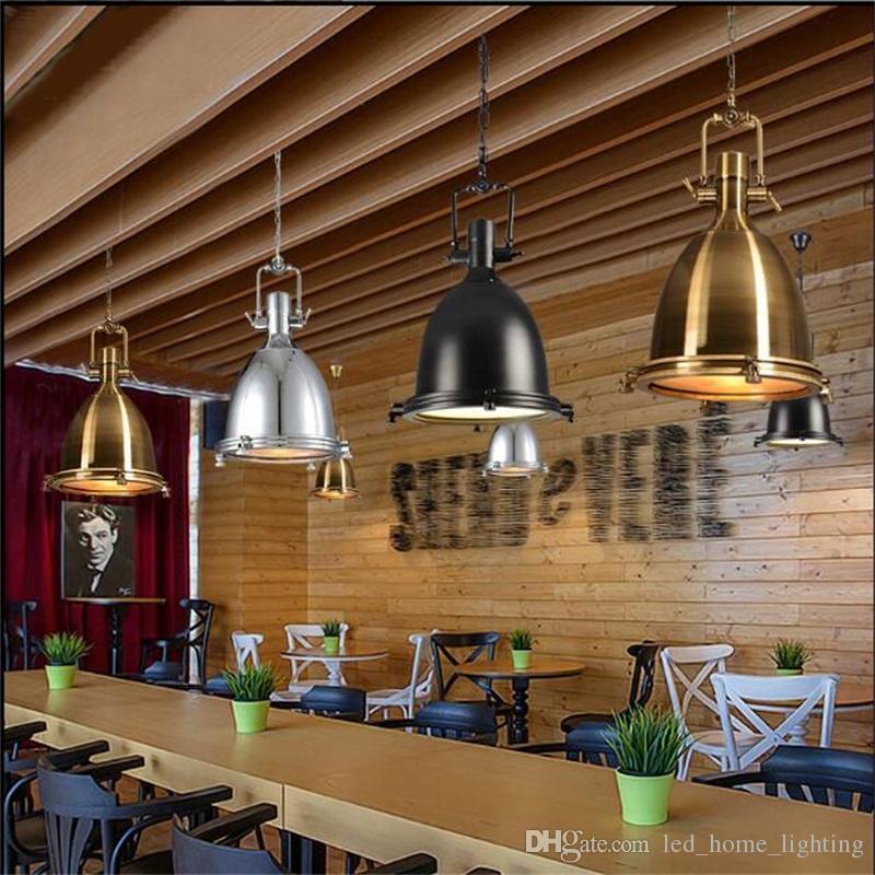 Acheter Lampe Loft Lumière Illuminer Votre Cuisine Luminaire Industriel  Vintage Style Américain Bronze Chromé De $271.36 Du Outdoor_light |  DHgate.Com