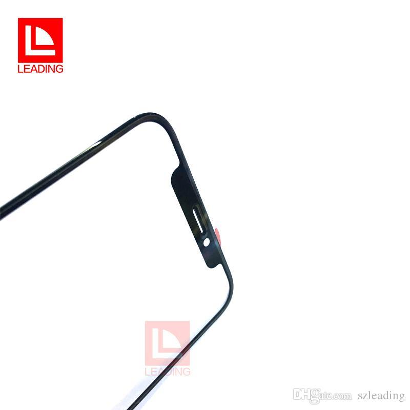 la parte di riparazione della sostituzione dello schermo della lente di vetro esterna del pannello dello schermo di tocco di iPhone X Trasporto libero della parte