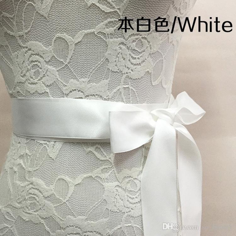 Bridal Sash Wedding Princess Rhinestone Faux Pearls Belt Girl Flower Bridesmaid Dress Sash Wedding Accessories Multi Color Ribbon