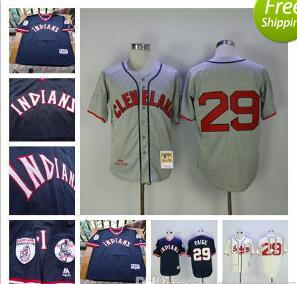 hot sales 7a7ff 2e043 low price mitchell and ness 1948 indians 29 satchel paige ...