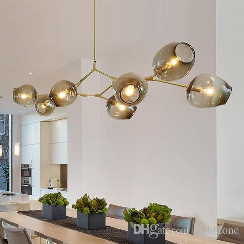 Discount Lindsey Adelman Globe Glass Pendant L& Branching Bubble Modern Chandelier Light Cafe/Cloth Shop 3/5/7/8/9/11/13/15 Heads Single Pendant Lights ... & Discount Lindsey Adelman Globe Glass Pendant Lamp Branching Bubble ... azcodes.com