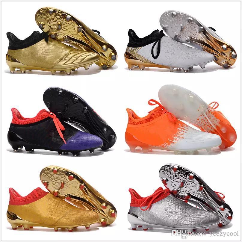 size 40 a92e6 c4094 2017 Descuento Barato X 16+ Purechaos Fg Ag Zapatos De Fútbol De Los  Hombres De Fútbol De Calidad Superior 2016 Nuevos Zapatos De Fútbol Botas  De Fútbol ...