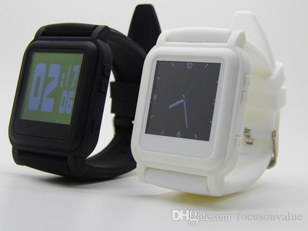 Student Watch Exam Cheating Watch integrierte 4 GB Speicher 10 Zeile TXT Ebook MP4 Watch mehrsprachige Musik Video Foto MP4 Player schwarz
