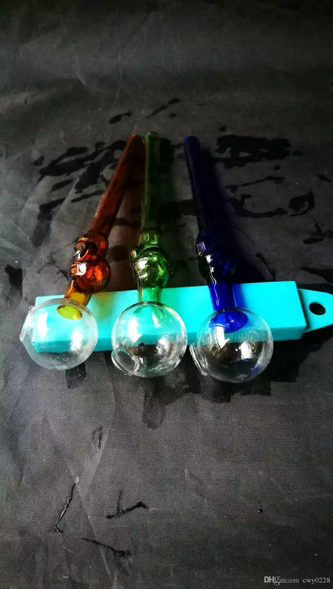Прозрачная головка горелки бонги аксессуары, уникальный масляная горелка стекло бонги трубы водопроводные трубы стеклянная труба нефтяные вышки курение с капельницей