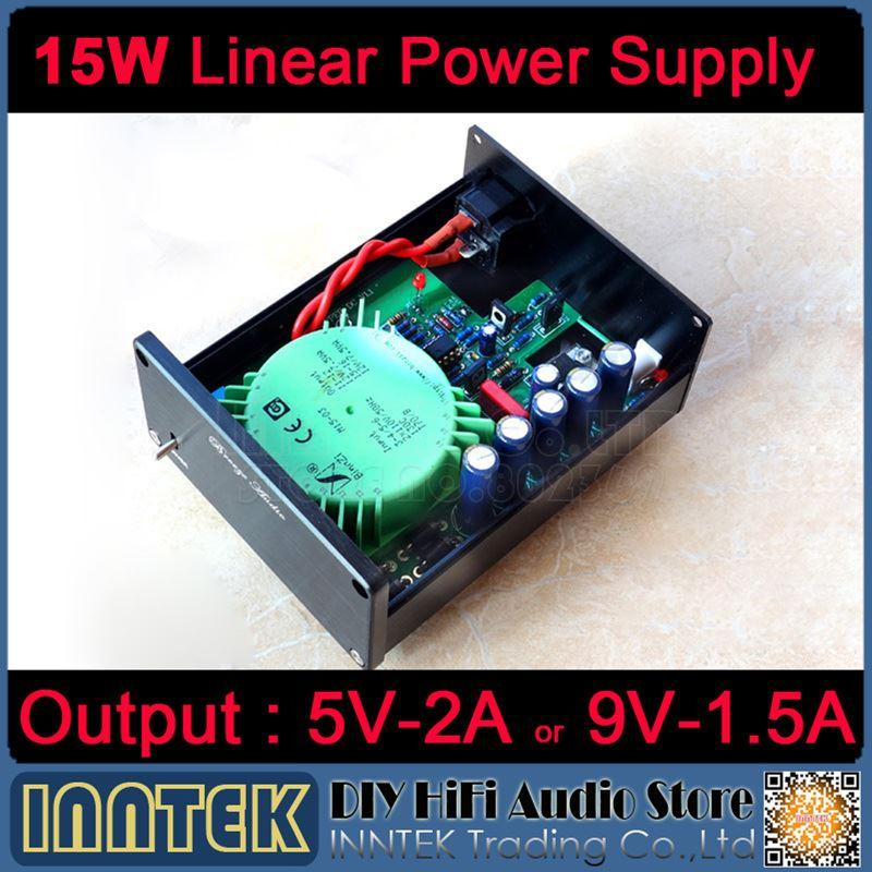 Freeshipping 15W Linear Power Supply Regulated power supply Refer to  STUDER900 support 5V/2A or 9V/1 5A Output