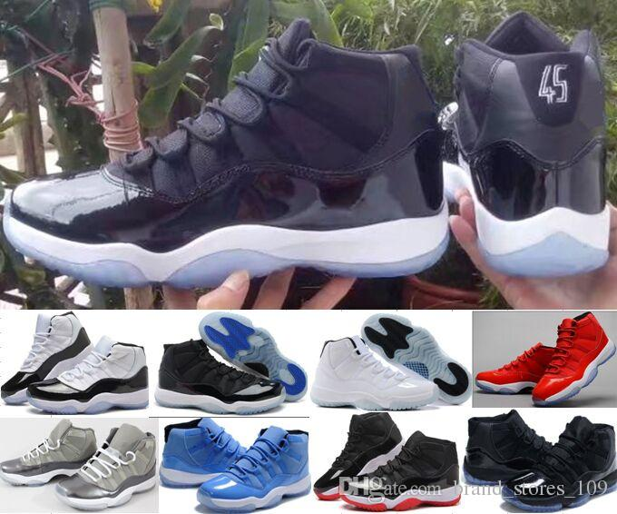 0135c92ec66d With Box + Number 45 23 11s Spaces Jams Basketball Shoes For Women Men Top  Quality 11s Athletic Sport Sneakers Size 36 47 Basketball Shoes Men Sports  Shoes ...