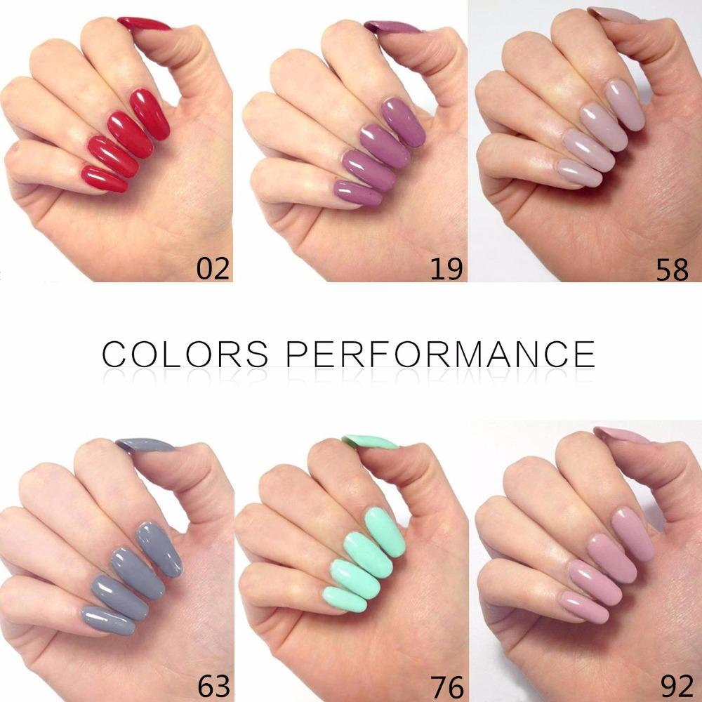 Primer Acrylic Nails Perfect Summer Color UV Polish Gel Soak Off ...