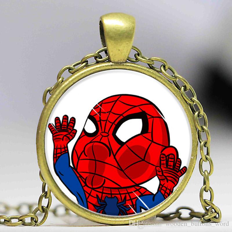 Wholesale cute fashion necklace kawaii japanese anime cartoon my wholesale cute fashion necklace kawaii japanese anime cartoon my neighbor glass pendant necklaces for girl women animal jewelry long pendant necklace mens aloadofball Gallery
