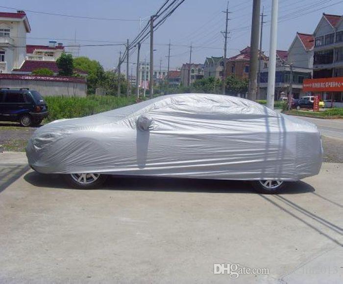 YENTL 전체 자동차 커버 통기성 UV 보호 안티 먼지와 긁힘 더 차 넣어 로고 야외에 대한 지연 방패에게 멀티 크기의 불꽃
